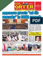 Bikol Reporter July 24 - 30, 2016 Issue