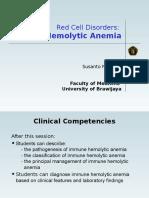 14. Immune Hemolytic Anemia