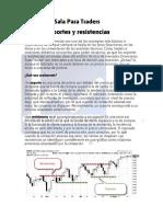 Analisis Tecnico Soportes y Resistencias