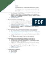 Internal Assessment Questions 140410