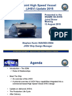 JHSV Update BRIEF to SNAME SD5-IHS_13AUG2015(PAO-Distro a)Annotated.ppt (Read-Only)