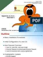 OGF25 OpenCA Workshop