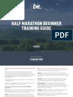 Trainingguide Halfmarathon Beginner
