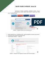 Pendaftaran domainDesa