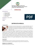 Entrevista Medica Grupo 3
