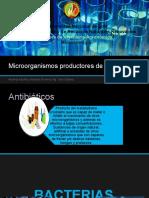 Microorganismos Productores de Antibióticos