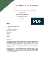 Nomenclatura y Unidades de Las Propiedades Biológicas