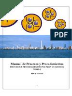 MEMORIAS - CASO REAL - Manual de Procesos y Procedimientos Vol. 2