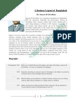 A Business Legend of Bangladesh Mr. Samson H Chowdhury