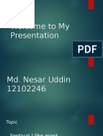 Presentation on WALTON BD