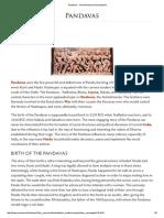 Pandavas - Ancient History Encyclopedia