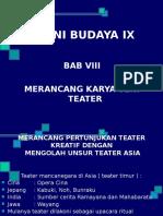 Bab Viii Seni Teater Kls 9