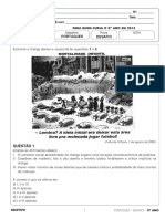Desafio 9ano Fund2 Portugues - Uso Das Aspas