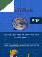 EL DESCUBRIMIENTO DE AMÉRICA POR CRISTÓBAL COLÓN