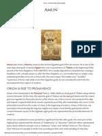Amun - Ancient History Encyclopedia