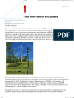 The Significance of Small Wind-Powered Wind Systems