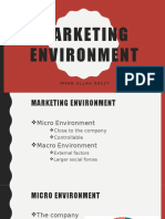 Marketing Environment ppt