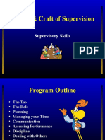 The Art & Craft of Supervision