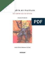 L'Algérie en murmure. Un cahier sur la torture