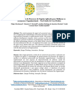 O Gerenciamento de Processos Negócio Aplicado Para Melhorar Os Resultados Organizaçionais