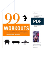 Guide - 99 Workouts No Equipment Needed
