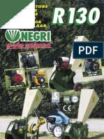 R130 Bio Shredder Leaflet