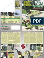R225 Bio Shredder Leaflet