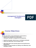 Mgmt. Fundas for Managers
