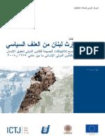 إرث لبنان من العنف السياسي