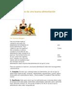 Características de Una Buena Alimentación