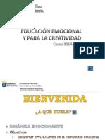 Educacion Emocional y Para La Creatividad