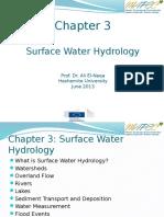Chap 3 - Surface water hydrology