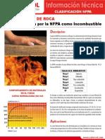 Lamina Mineral de Roca_NFPA