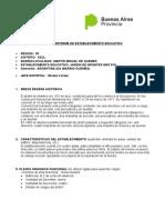 Informe de Establecimiento Educativo