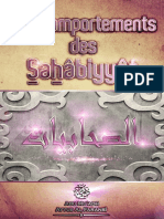 Les comportements des Sahâbiyyât