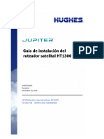 HT1300 Satellite Router Installation Guide_1040072-0001_a_ES