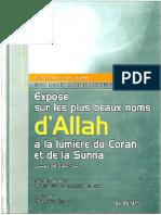 Expose Sur Les Plus Beaux Noms d Allah