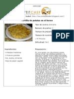 Tortilla de patatas en el horno - Petit Chef.pdf