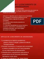CREACION Y LICENCIAMIENTO DE UNIVERSIDADES.pptx