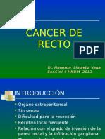 Cancer de Recto Ucsur 2013