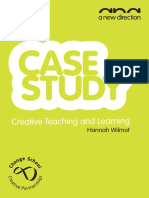 Creative Teaching & Learning - Hannah Wilmot