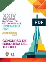 Bases Generales Del Concurso de Topografia Coneic2016