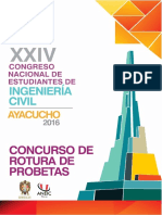 Bases Generales Del Concurso de Probetas de Resistencia Controlada 2016