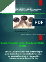 3. Alternativas Tecnologicas Para El Aprovechamiento de Los Residuos Organicos. m. c. Jose Heber de Leon Monzon