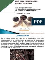 5. Lombricultura. m. c. Raul Cuevas Gonzalez