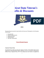 Vet State Benefits & Discounts - CT 2016