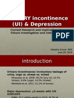 Urinary Incontinence and Depression [Final]