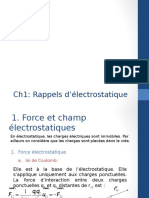 Ch1 Electrostatique