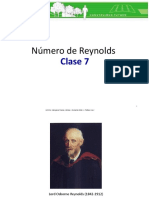 Clase 7. Numero de Reynolds (2016-1)