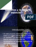 Cometas y la basura espacial.ppt